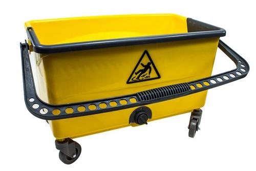 Deluxe Microfiber Mop Cleaning Bucket (Yellow) (BM-174)