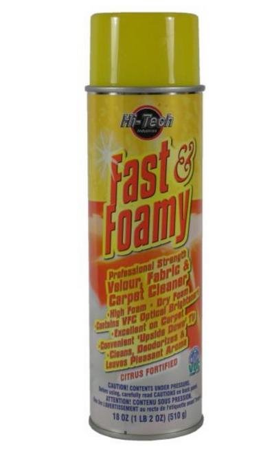 FAST 'N FOAMY CARPET CLEANER (HT 18004)