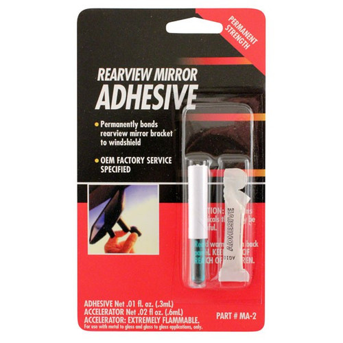 Master Rearview Mirror Adhesive .01oz (MA-2)
