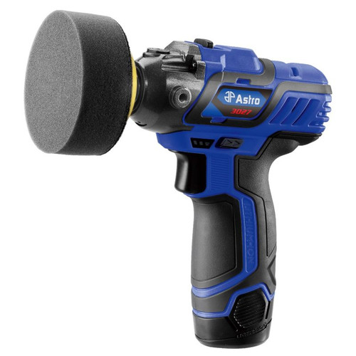 "12V 3"" MINI CORDLESS PISTOL POLISHER W/ 2 BATTERIES (3027)"