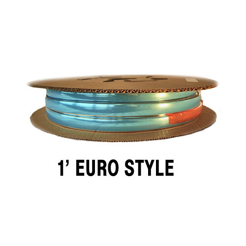 "European Style Chrome Molding 1"" x 100' (33-111)"