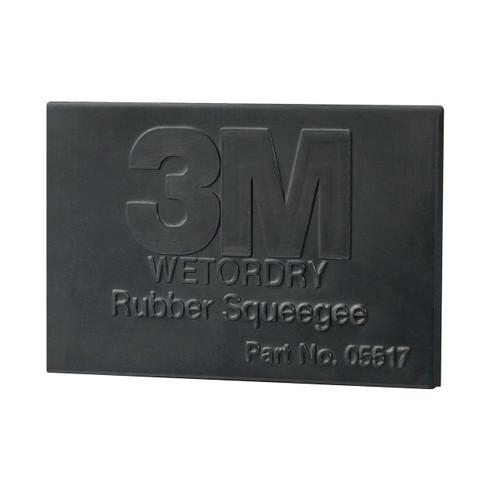 Wetordry Rubber Squeegee, 05518, 2 in x 3 in (05518)