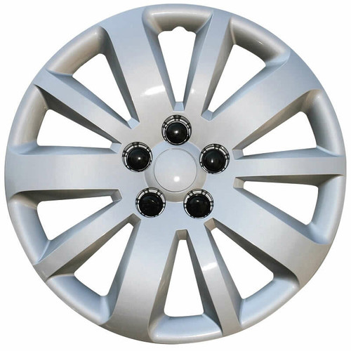 "Wheel Covers: Premier Series: 461 Silver (16"") (461-16S)"