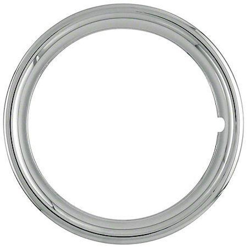 """Wheel Covers: Trim Rings 15"""" (1515P)"""