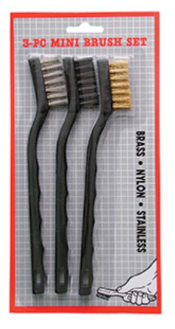 3 Piece Mini Brush Set (M280)