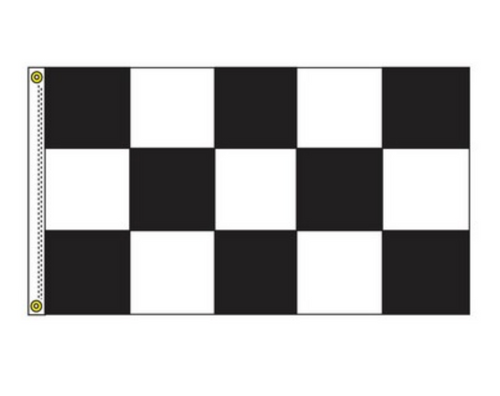 Free Flying Checker Drape Flag (3' x 5') (NC35)