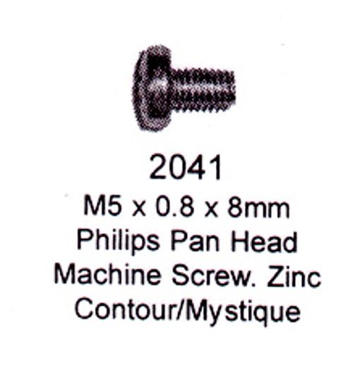 License Plate Fasteners 2041 Pan Head Machine Screw