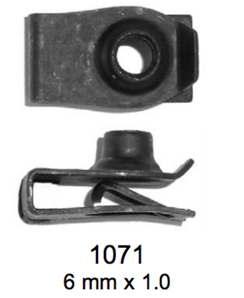 License Plate Fasteners 1071 Japanese Plate Clip (LF-1071)