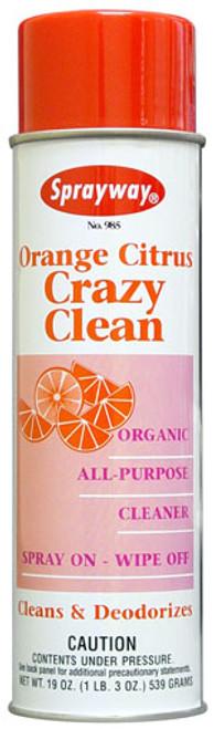 Orange Citrus Crazy Clean Organic