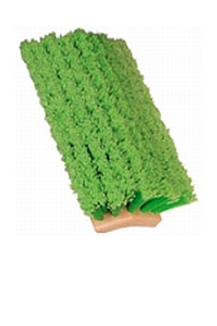 Green bi level car wash brush