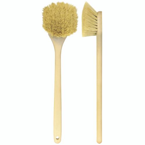 "20"" Body & Grill Brush- Natural tampico (85-602)"