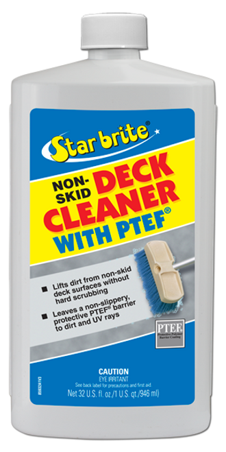 Non-Skid Deck Cleaner With PTEF