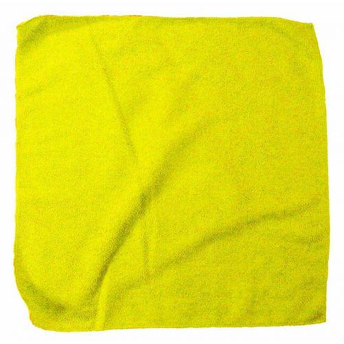 HT-20Y plush yellow microfiber towel