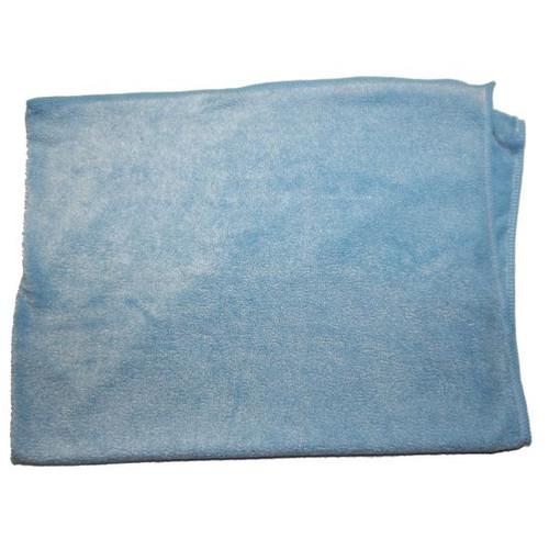 PLUSH MICROFIBER CLOTH 24X33 BLUE