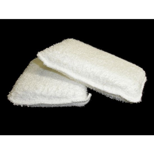 "RECTANGLE COTTON WAX PAD - 3.5"" X 5"""