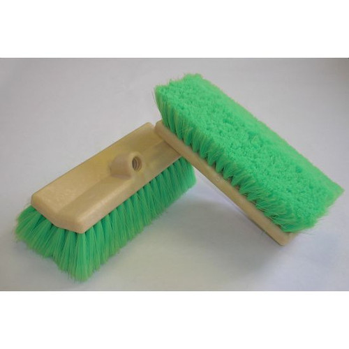 """TRUCK BRUSH - 10"""" DOUBLE FACE CHEMICAL RESISTANT"""