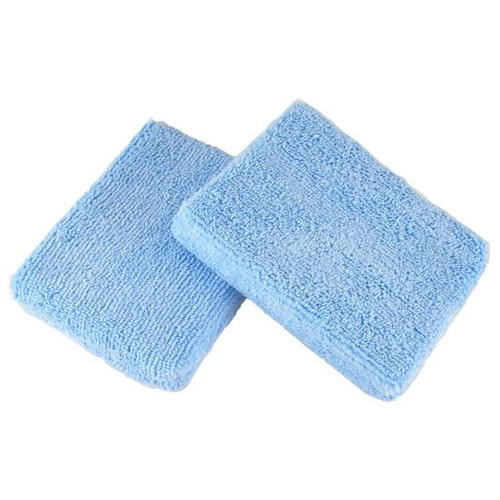 "MICROFIBER WAX APPLICATOR - BLUE 5"" x 3.75"""