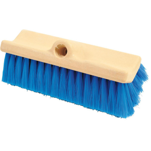 Bi-Level Scrub Poly Brush Blue