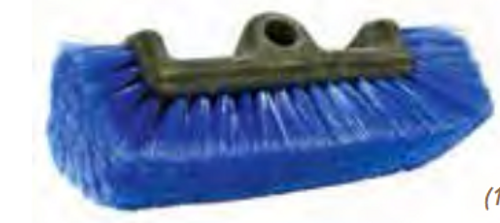 multi-level scrub brush