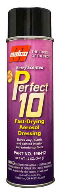 P-10 Berry Scented automotive trim spray
