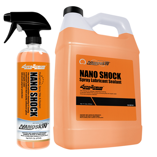 NANO SHOCK Hydrophobic Spray Wax & Sealant