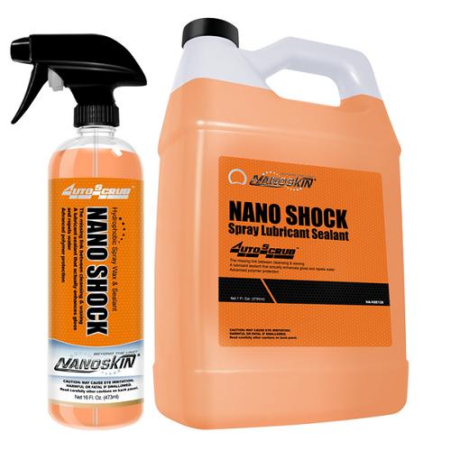 NANO SHOCK Hydrophobic Spray Wax & Sealant