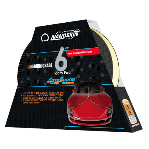 "AUTOSCRUB 6"" Pad Medium Grade"
