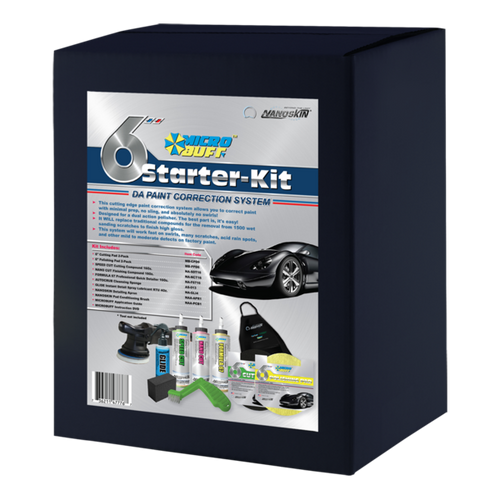 "MICROBUFF 6"" Pro Starter Kit"
