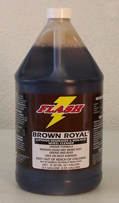 Brown Royal Non-Acid Wheel & Tire Cleaner