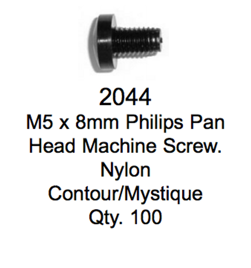 License Plate Fasteners 2044 Pan Head Machine Screw