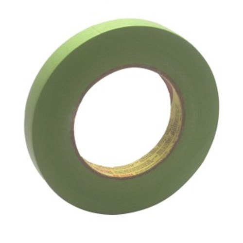 Scotch Performance Green Masking Tape 233, 18 mm width (.71 inches), 3/4 inch 26334 (26334)