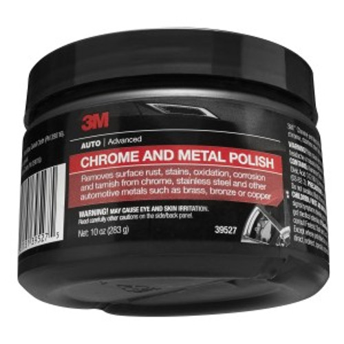 CHROME AND METAL POLISH, 10 OUNCE, 39527