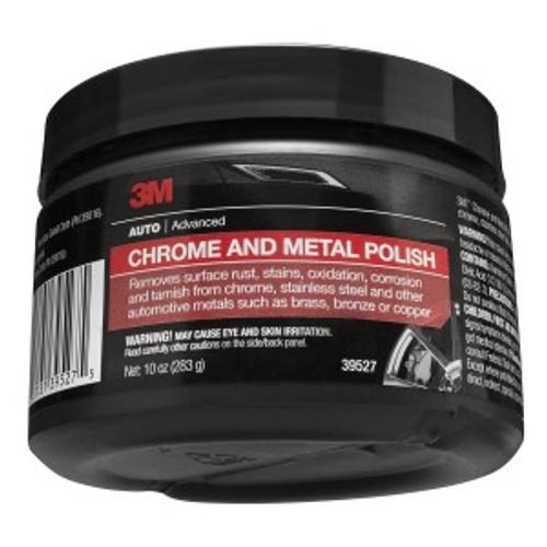CHROME AND METAL POLISH, 10 OUNCE, 39527