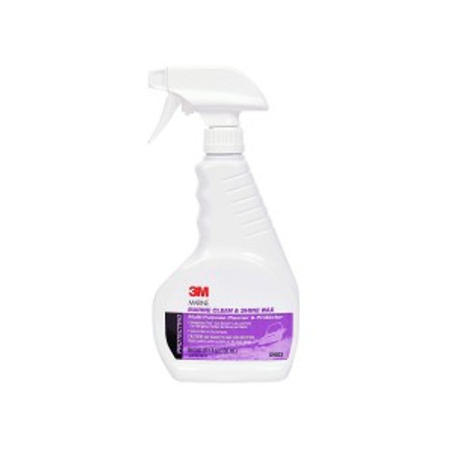 MARINE CLEAN & SHINE WAX 16.9 OZ, 09033
