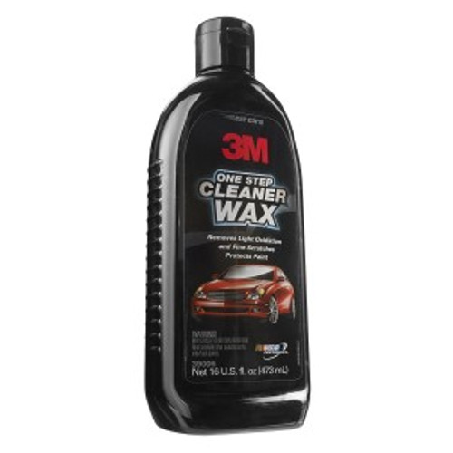 ONE STEP CLEANER WAX, 16 OUNCE, 39006