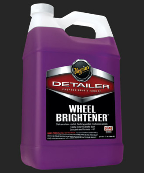 MEGUIAR'S DETAILER, WHEEL BRIGHTENER, 1 GALLON (D14001)
