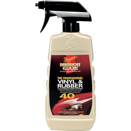 Mirror Glaze #40 Vinyl & Rubber Cleaner / Conditioner (M4016)