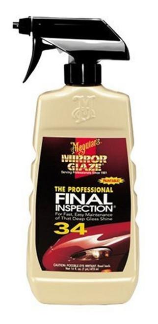 MIRROR GLAZE #34 FINAL INSPECTION (M3416)