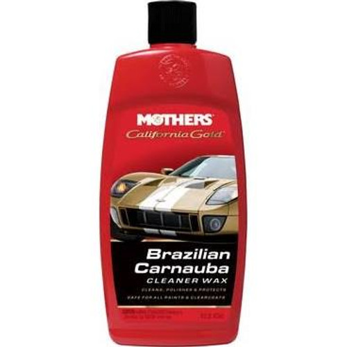 California Gold Brazilian Carnauba Cleaner Wax 16 oz. (5701)