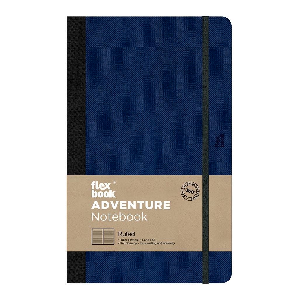 Flexbook Adventure Notebook Medium Ruled Royal Blue
