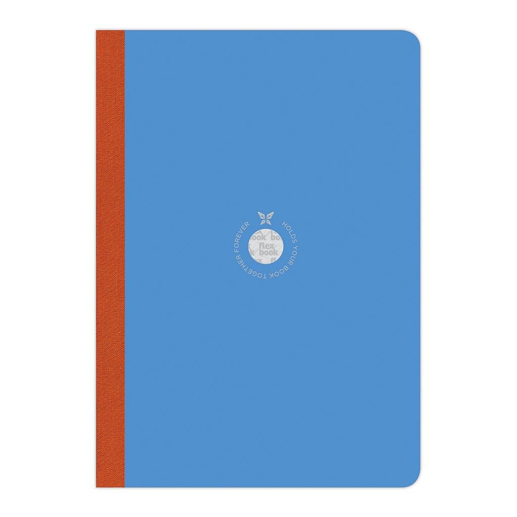 Flexbook Smartbook Notebook Large Ruled Blue/Orange