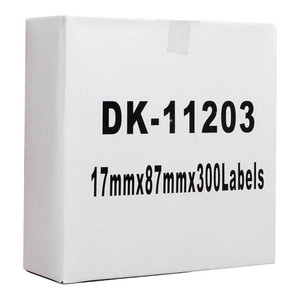 Icon Compatible Brother DK Labels 17x87mm 300 Roll