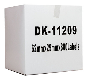 Icon Compatible Brother DK Labels 29x62mm 800 Roll