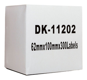 Icon Compatible Brother DK Labels 62x101mm 300 Roll