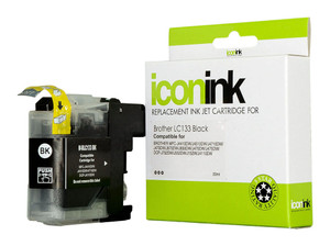 Icon Compatible Brother LC133 Black Ink Cartridge