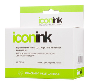 Icon Compatible Brother LC73 LC40 BCMY Ink Value Pack