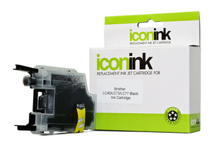 Icon Compatible Brother LC77 LC73 LC40 Black Ink Cartridge
