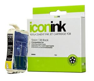 Icon Compatible Epson 138 Black Ink Cartridge