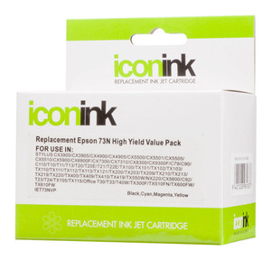 Icon Compatible Epson 73N BCMY Ink Value Pack