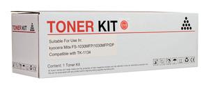 Icon Compatible Kyocera TK1134 Black Toner Cartridge